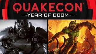 Fallout 76 Panel and DOOM Eternal Live Gameplay | QuakeCon 2019
