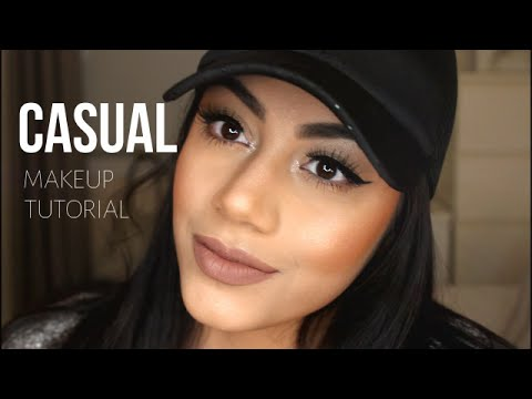 CASUAL MAKEUP TUTORIAL   KYLIE LIP KIT