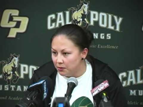 Cal Poly Women's Basketball Assistant Kerri Nakamoto