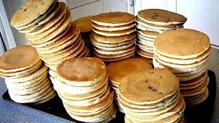 113 Pancakes Eaten in 8 Minutes (NEW World Record) by : Matt Stonie