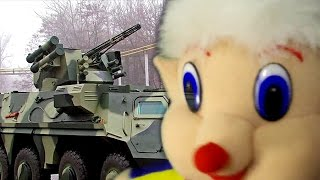 Special equipment for children Military armored vehicles