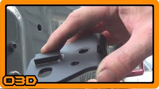 PART TWO Poison Spyder Body Mount Tire Carrier Installation   Latch side, Hinge Side, Bushings