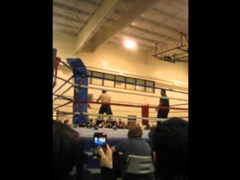 newfoundland kickboxing boxing fight night paradise mma ken vs mark