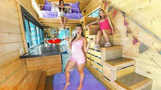 24 Hours in a Tiny House with My Sisters