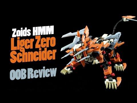 509 - Zoids HMM Liger Zero Schneider (OOB Review)