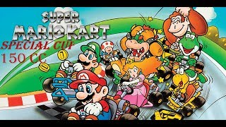 Super Mario Kart / Special cup 150 cc / Super Nintendo