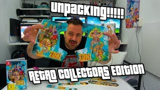 Toki Retro Collectors Edition Unpacking en een Super Rare Game!