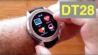 No.1 DT28 ECG+PPG IP68 Waterproof Sports/Business/Health Smartwatch: Unboxing and 1st Look