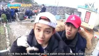 Best Jeonghan Moments • One Fine Day - 13 Castaway Boys (Part 1)