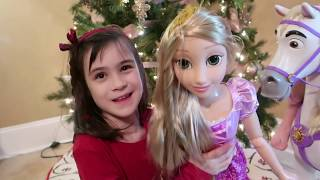 Playdate Rapunzel Doll & My Size Maximus Horse Toy REVIEW | Christmas Toy Ideas