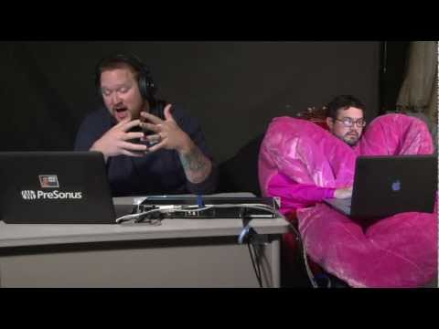 PreSonus Tech Talk Live -  Sweetheart Upgrade -  2-14-12