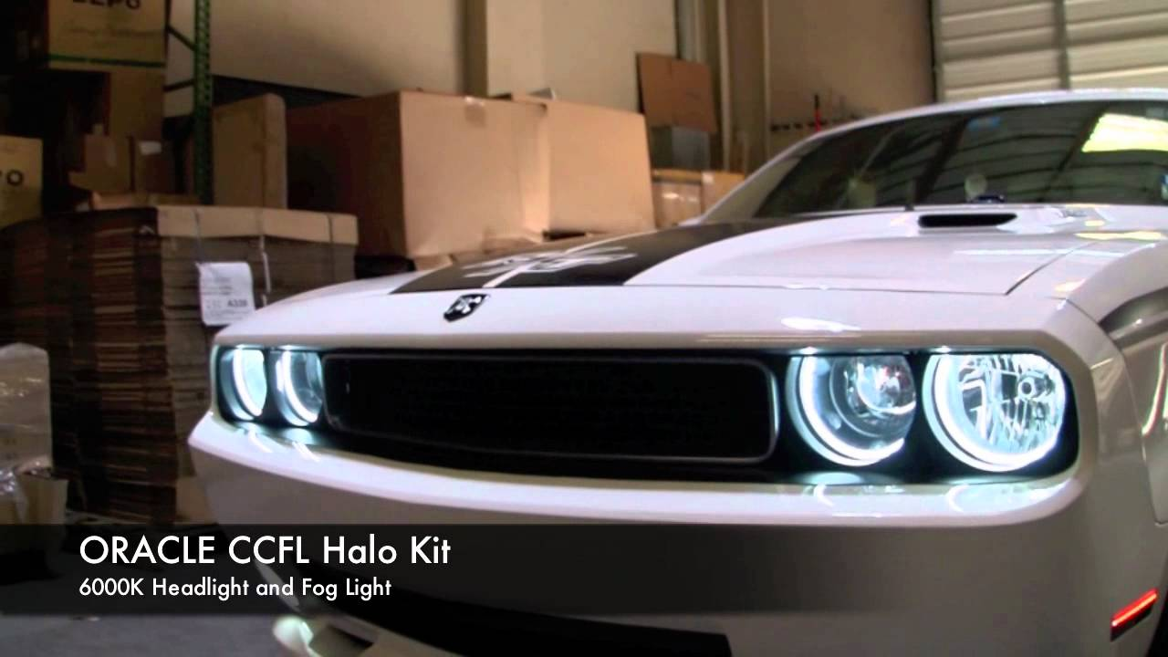 Dodge Challenger Oracle Headlight Halo Installation By