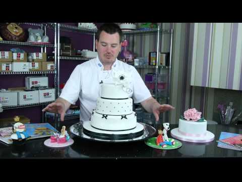 Cake Decorating Courses By Paul Bradford