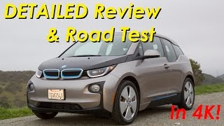 2015 BMW i3 Range Extender DETAILED Review and Road Test - In 4K!