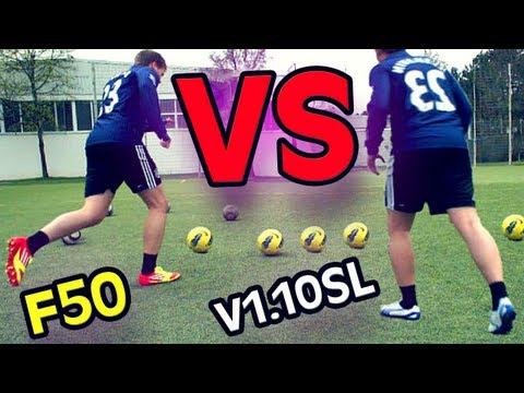 Adidas F50 vs. Puma V1.10 SL