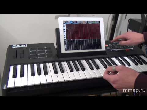 mmag.ru: Akai Synthstation 49 video review