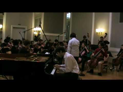 Beethoven - Piano Concerto No. 2 in B-flat major, op. 29, 3rd mov. (Kaplan, Ercolino, 2009)