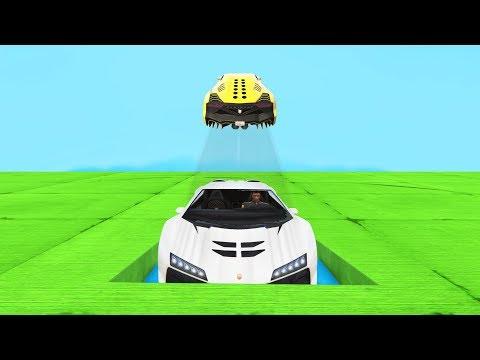 Самый угарный парный скилл-тест на зенторно в GTA 5 Online