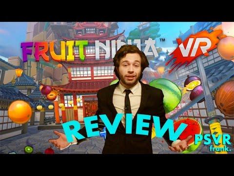 Fruit Ninja PlayStation VR + Review + Gameplay PSVR frank.