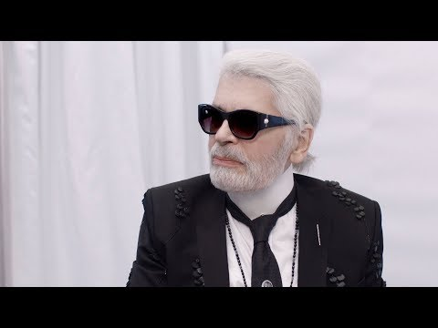 Karl Lagerfeld at the Fall-Winter 2018/19 Ready-to-Wear Show — CHANEL