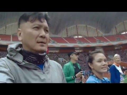 Opening ceremony Pyongyang marathon 2016