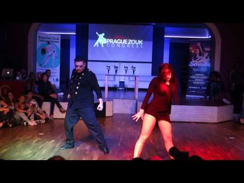 00383 PZC2017 Sara & Javi in Students Performance ~ video by Zouk Soul