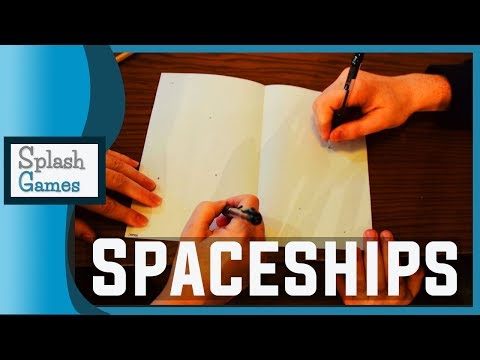 Pencil and Paper Game: Spaceships