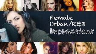 Female Pop Impressions 2 (Urban/R&B) - Beyonce, JLo, Fergie, Jhene, & More