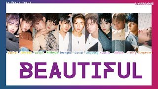 [COLOR CODED/THAISUB] WANNA ONE - Beautiful #พีชซับไทย