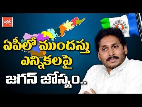 Ys Jagan Prediction on Early Elections in AP | Chandrababu | 2019 Elections AP | YOYO TV Channel