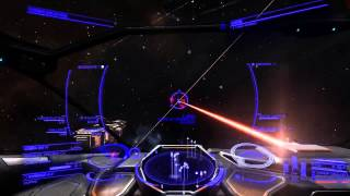 Capital Ship Jumping in! Elite : Dangerous (Conflict zone)