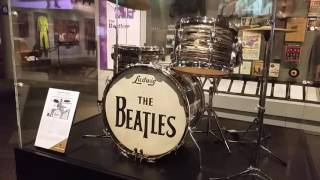 Rock N Roll Hall of Fame -Guitar tour- Aug 2016