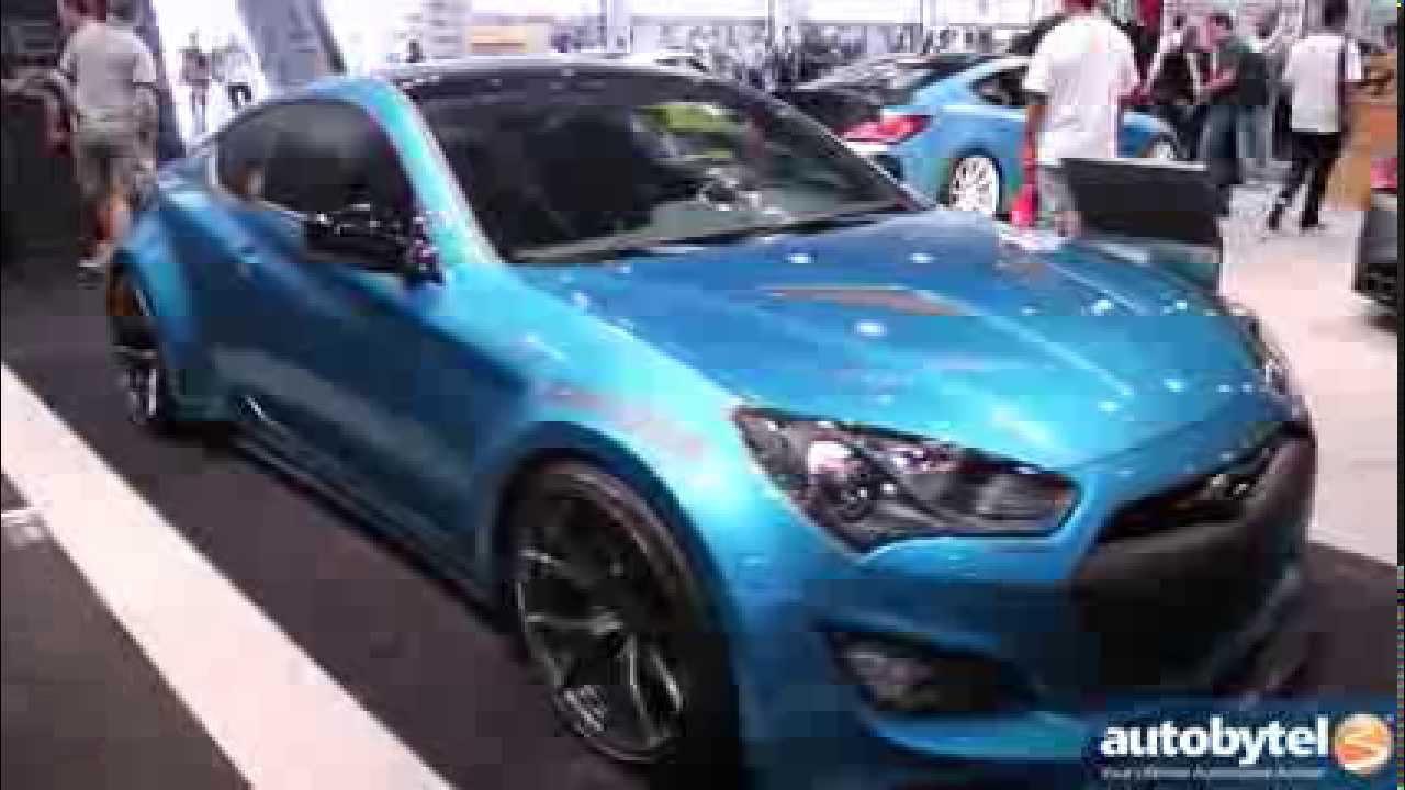 Jp Edition Hyundai Genesis Coupe Tuner Car Sema Youtube