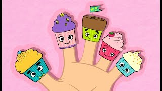 Cupcake Finger Family and More | NEW DADDY FINGER VIDEO | Baby Songs from Mother Goose Club!