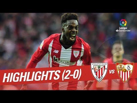 Highlights Athletic Club vs Sevilla FC (2-0)