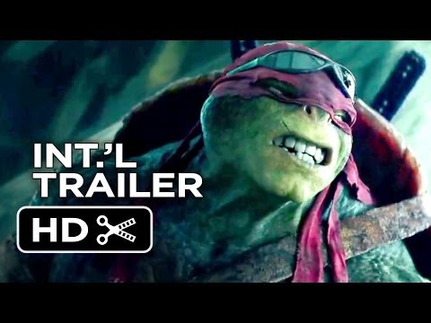 Teenage Mutant Ninja Turtles Official International Trailer #1 (2014) - Whoopi Goldberg Movie HD