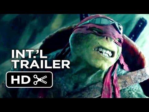 Teenage Mutant Ninja Turtles Official International Trailer #1 (2014) - Whoopi Goldberg Movie Hd video