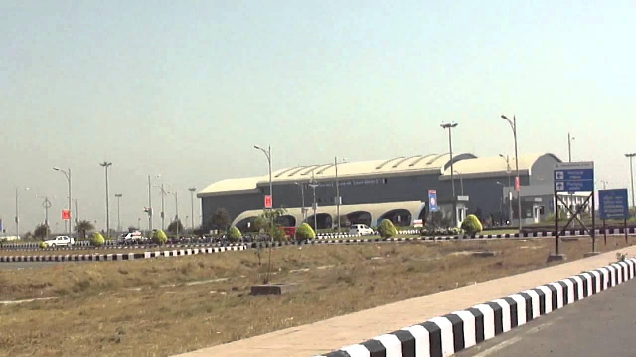 Gujarat India Airport Outside Surat Airport Gujarat