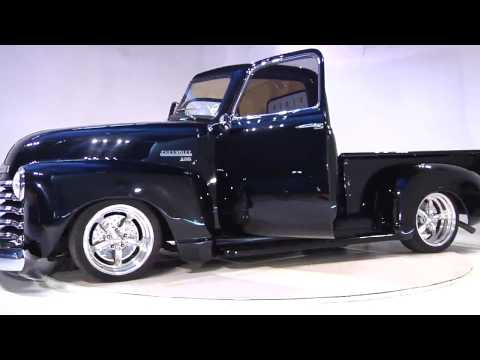 1951 Chevy 3100 Stepside Pickup filmed at Turnstudio.net