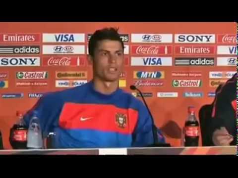 Portugal vs Coreia do Norte Cristiano Ronaldo Press Conference - Portugal Vs North Korea.