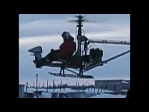 Russian Homemade Helicopters You Can Actually Fly