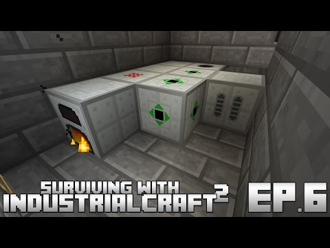 Surviving With IndustrialCraft 2 :: Ep.6 - Biomass & Biogas Power Generation