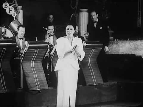 Adelaide Hall at the Nightingale Club, London (1948)