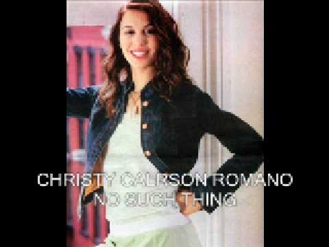 Christy Carlson Romano - No Such Thing