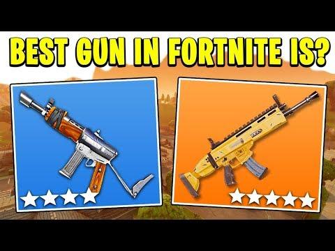 10 BEST Weapons in Fortnite