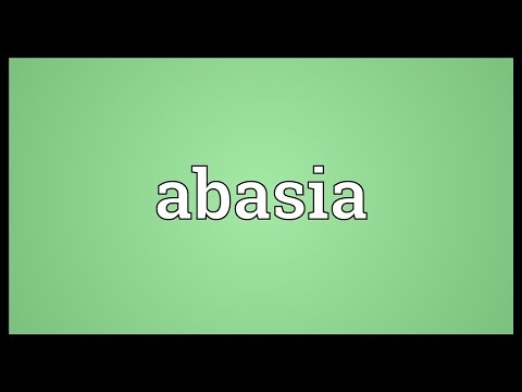 Header of abasia