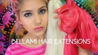 Dying My BELLAMI Hair Extensions Pink Review