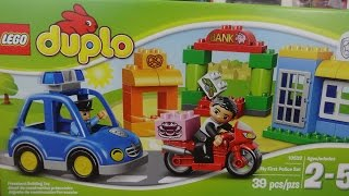 LEGO DUPLO MY FIRST POLICE STATION SET FOR CHILDREN FROM 2 TO 5 YEARS