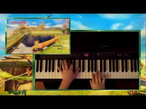 Zelda Skyward Sword - Skyloft Theme, Piano
