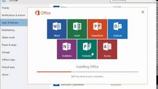 Windows 10 - Repairing your Office 2016 installation